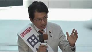 小倉駅前緊急街頭演説(9月24日・弁士・小池書記局長、田村貴昭衆院議員)