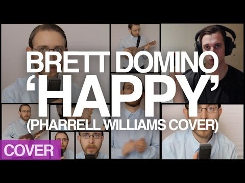 happy - Steven's on holiday, but with state-of-the-art technology he's still been able to feature in Brett's cover of Pharrell's massive 2014 tune, 'Happy'. SUBSCRIB...