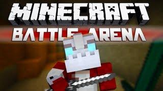 Minecraft Battle-Arena Episode 3: w/Nooch and Woofless!