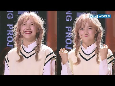 Good Day Jiwon's Innocent Smile Gets Rain Smiling Like A Dad. [the Unit/2017.12.06]