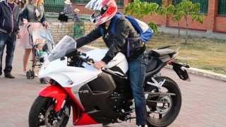 6. Motor from Suzuki sv,Hyosung GT 250 R 2014.sport bike, motor from Suzuki sv