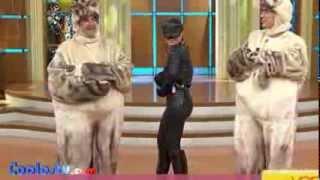 Tabata Jalil Traje De Gatita En Latex Sexy HD