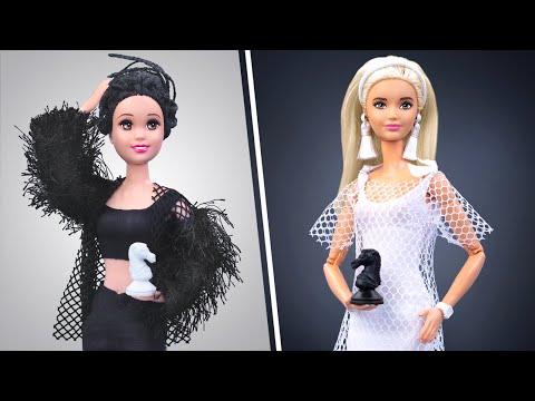 Tantangan Hitam Dan Putih! Semuanya Dalam Satu Warna Untuk Barbie