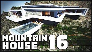Minecraft - Modern Mountain House 16
