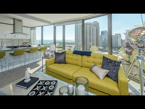 Tour a South Loop 2-bedroom, 2-bath model at 1001 South State