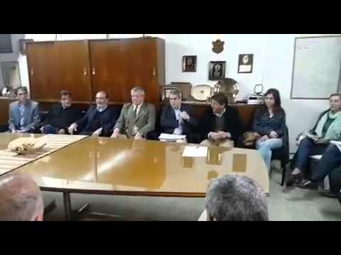 Inicio de la reunión en Sociedad Rural Jesús María