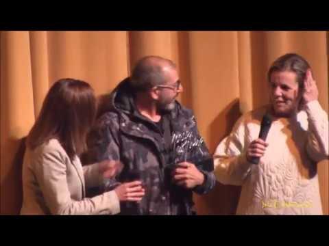 Entrega del Premio Horacio Noguera a D. Antonio Zamudio
