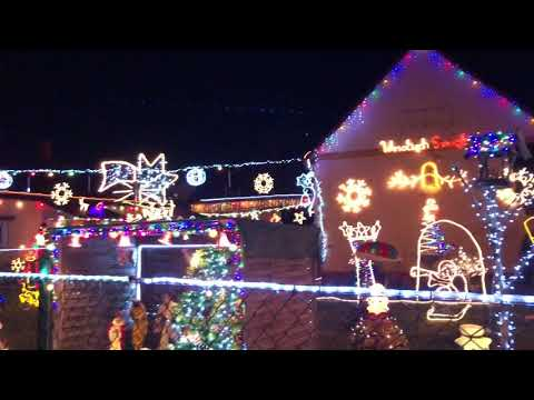 Wideo: Świątecznie udekorowany dom w Polkowicach