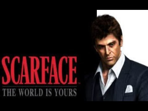 Scarface. The Movie. The World Is Yours. All Cut Scenes. Full Story.