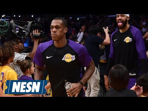 Video: Rajon Rondo Wants To Make History With The Lakers