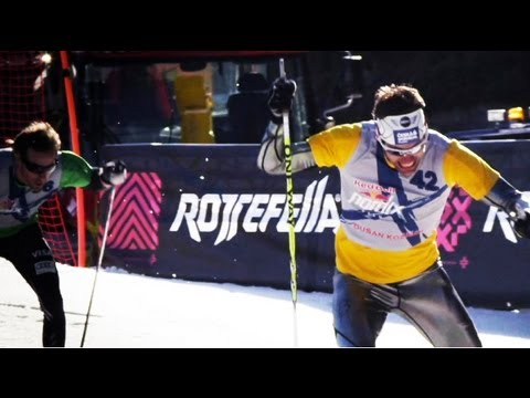 xc ski - Top International cross country athletes were gathered for the season ending show run of Red Bull NordiX in Oslo, Norway. Aanund Lid Byggland was the fastest...