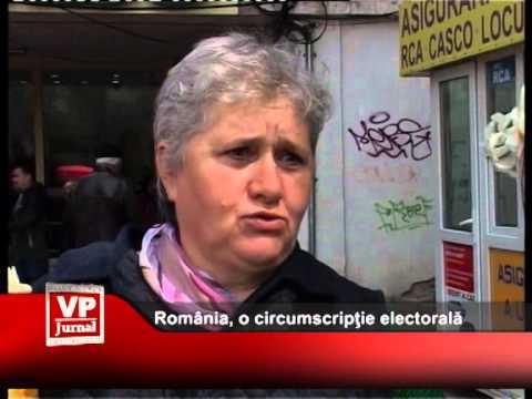 România, o circumscripție electorală