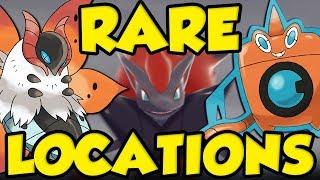 RARE POKEMON LOCATIONS ON THE ISLE OF ARMOR! Best Rare Pokemon Spawn Guide In Pokemon Sword & Shield by Verlisify