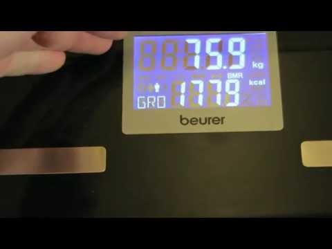 Beurer BF700 Diagnosewaage - Testmessungen