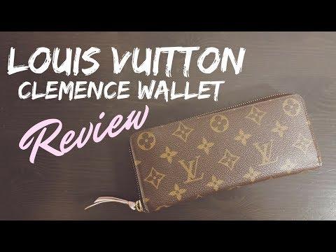 5422ba297599 LOUIS VUITTON CLEMENCE WALLET REVIEW