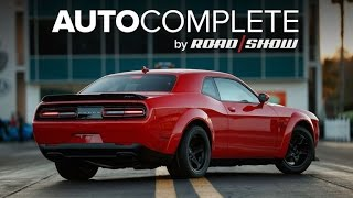 AutoComplete: Dodge's Challenger SRT Demon gets priced by Roadshow