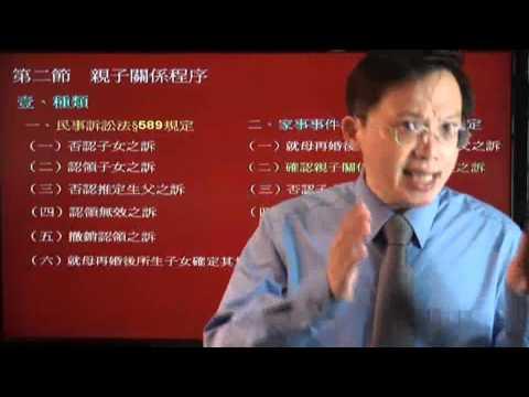 樂學網線上補習-司法官,律師-司法官/律師_身分法_李俊德老師