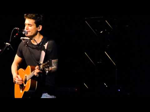 XO- John Mayer (Beyonce Cover) Sydney 24-04-2014