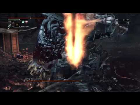Bloodborne - The Old Hunters  - Ludwig Boss fight guide