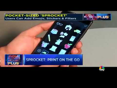 HP's Pocket Sized Printer 'Sproket' Launched at Rs 6,999 | CNBC TV18