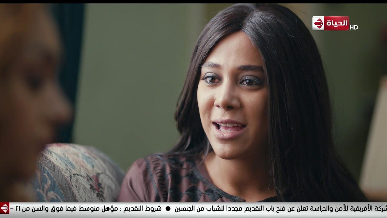 مسلسل بحر - جواهر خايفة على سالم يكون عرف واحدة من بيتوع مصر وفاطمة بتنصحها