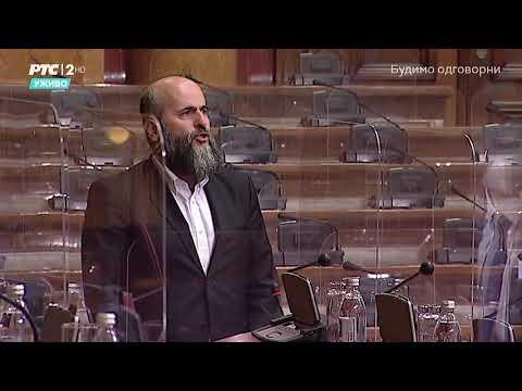 Obraćanje u Skupštini 12. 05. 2021. g. – Akademik Muamer Zukorlić