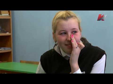 Девочка Таня из русской глубинки