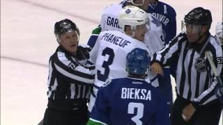Gotta See It: Phaneuf fights Kassian, then mocked by Hansen
