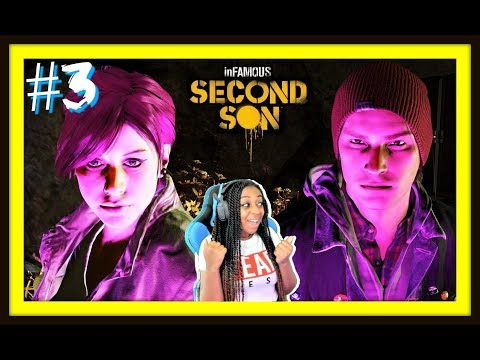 MY NEON BAE!!! | Infamous Second Son Episode 3 Gameplay!!!