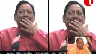 Chetan Chauhan Cabinet Minister UP interview