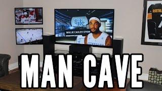 Man Cave Tour   Three Tv S  2015