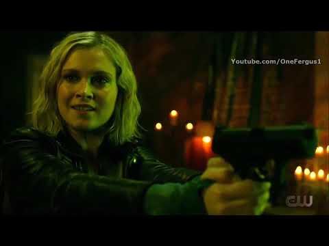 """The 100 7x13 """"Clarke Kill Bellamy"""" Ending Scene Season 7 Episode 13 [HD] """"Blood Giant"""""""