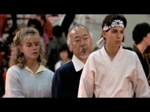 Original karate kid kick