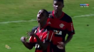 Gols - Flamengo 2 x 1 Cruzeiro - Oitavas Copa São Paulo Jr. 2017 - 15/01/2017.