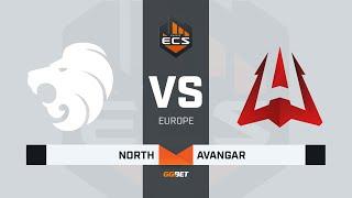 North vs AVANGAR, game 1