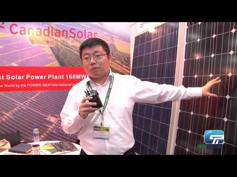 Canadian Solar : Mono-crystalline Silicon Module, Poly-crystalline Module and Solar System