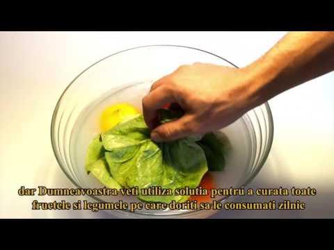 Scallo-P, produs 100% natural de curatire a fructelor, legumelor si a ustensilelor de bucatarie
