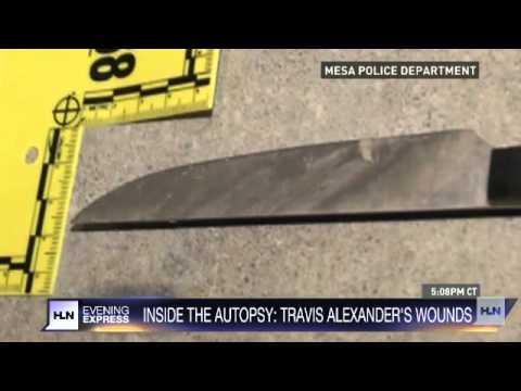 Jodi Arias trial: See Travis Alexander's autopsy