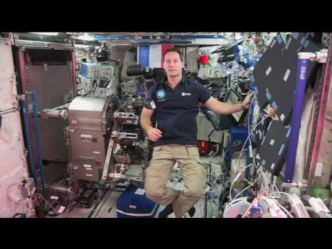 Space Station Crew Member Discusses Life in Space with French TV Network