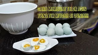 Video Easy way to make salted eggs MP3, 3GP, MP4, WEBM, AVI, FLV Mei 2019