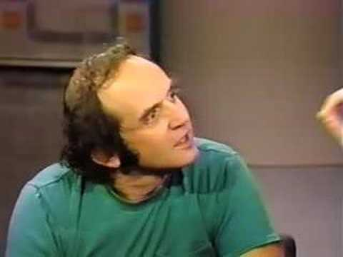 harvey - Harvey Pekar on Letterman. Downloaded from: http://www.ddy.com/dl29.html.