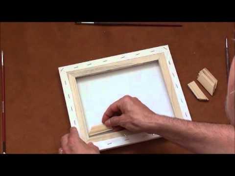 Tipps für Anfänger der Acrylmalerei (3): Malgründe (Leinwände etc.)