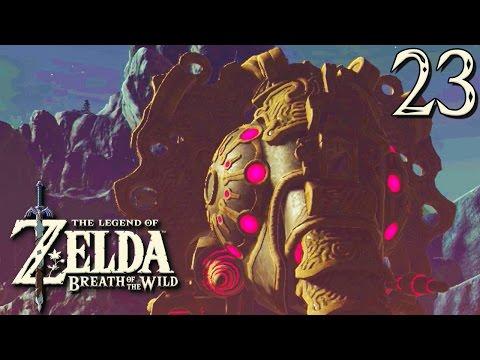Zelda Breath of the Wild #23 : LE 1ER TEMPLE ! (видео)