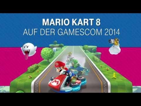 GAMESCOM 2014 - Telekom Mario Kart 8 Cup «» Trailer