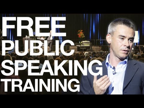 speaking - http://publicspeakersuniversity.com Learn public speaking from the best. Andy Harrington is now offering the best free public speaking training available any...