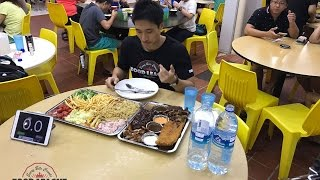 Enjoy the video? Comment, Subscribe and Share!Facebook - https://www.facebook.com/zermattneoInstagram - http://instagram.com/zermattneoSnapchat - zermattneo3KG XXL platter solo!Been a long time since I've done a eating challenge and this one is certainly a delicious one.2 huge trays consisting of -6 different types of protein: Salmon, Pork, Fish, Chicken and Ribs.10 sides (5 hot and 5 cold)