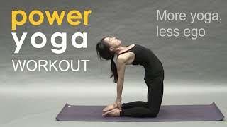 Video Full Power Yoga Class ~ More Yoga, Less Ego MP3, 3GP, MP4, WEBM, AVI, FLV Maret 2018