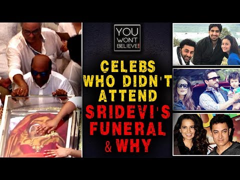 Aamir Khan, Kangana Ranaut, Kareena Kapoor | Celebs Who Didn't Attend Sridevi's Funeral & Why