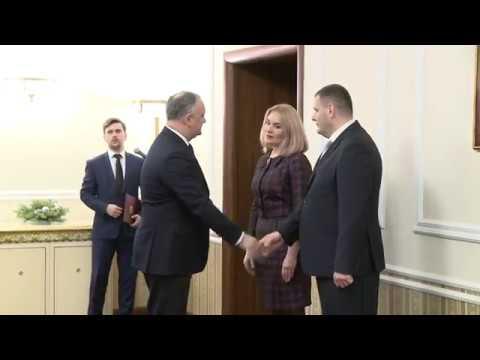 Conducerea ANI a depus jurămîntul în fața Președintelui Republicii Moldova
