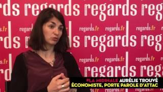 """Video Aurélie Trouvé (ATTAC) : """"Marine Le Pen au pouvoir serait la pire des situations"""" MP3, 3GP, MP4, WEBM, AVI, FLV Mei 2017"""